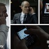 BlackBerry is one of the most visible brands in the new season of House of Cards