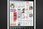 BlackBerry takes over the front page of the Economic Times India