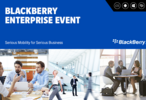 BlackBerry for Enterprise and Investor Day live blog!