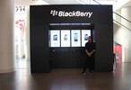 BlackBerry amps advertising efforts for their New York pop-up store