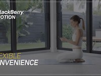 Enter to win a BlackBerry Motion from BlackBerry Mobile and Yoga!