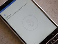 How to set up the fingerprint sensor on the BlackBerry KEY2