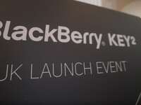 Check out the video from the BlackBerry KEY2 UK launch party!