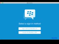 How to use BBM Enterprise on your desktop
