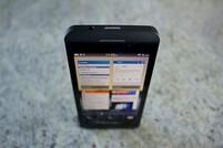 BlackBerry Z10 standing