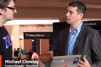 Michael Clewley and Kevin Michaluk at BlackBerry Live 2013