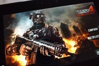 Modern Combat 4 on the BlackBerry PlayBook