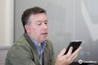 BlackBerry Z30 design with senior VP Todd Wood