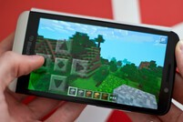 Minecraft on BlackBerry 10