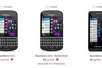 BlackBerry Z10's and Q10's return to T-Mobile's online store