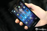 The BlackBerry Z3 has a 5-inch display