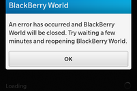 BlackBerry World Recovery Tool