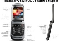 BlackBerry Style Features and Specifications