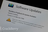 OS 2.1.0.1088 for the 4G LTE BlackBerry PlayBook now available