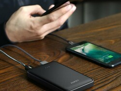 Aukey's $13 slimline powerbank has 10000mAh of power