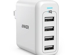 Anker's $17 PowerPort 4 can charge four of your gadgets at once