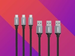 Stock up on Aukey's discounted USB-C cables now!