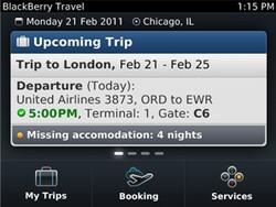 BlackBerry Travel updated to version 1.0.341.99