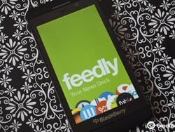 Feedly has plans for a future BlackBerry 10 app