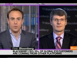 Thorsten Heins talks BlackBerry Q4 results with Bloomberg