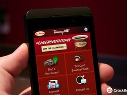 TimmyME for the BlackBerry Z10 is the coffee lovers companion
