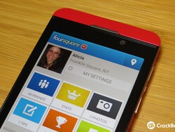 Foursquare for BlackBerry 10 updated to v10.0.1.3486