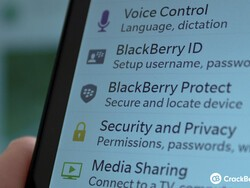 Using BlackBerry Protect on BlackBerry 10