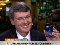 Thorsten Heins talks BlackBerry Q10 with Bloomberg
