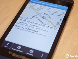 Where's My Bus? for BlackBerry 10 provides simple, real-time transit information