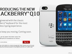 Verizon and Sprint open pre-registration for the BlackBerry Q10