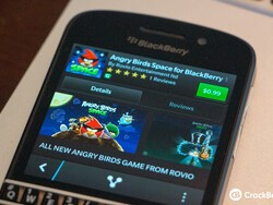 Angry Birds Space floats onto BlackBerry 10