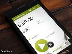 Endomondo now available for BlackBerry 10