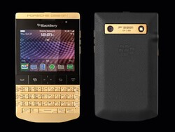 Porsche Design announce the Gold BlackBerry P'9981