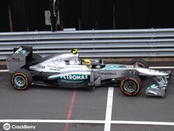 Race day for Team BlackBerry at the British Formula 1