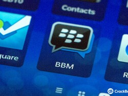 What's the value of BlackBerry's BBM Network?