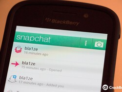 How to get Snapchat on your BlackBerry