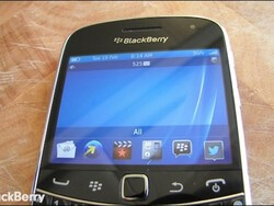 New BlackBerry 7 device appears set to arrive as the BlackBerry 9720