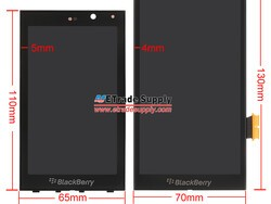 BlackBerry A10 display and digitizer parts appear online