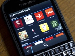 BlackBerry World updated with category UI change