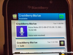 Now there is no excuse. BBM must include push to talk