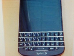Sprint-branded BlackBerry Q10 spotted