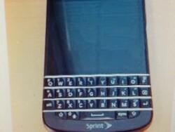 Sprint-branded BlackBerry Q10 spotted
