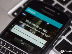 Snappy - A native BlackBerry 10 Snapchat app is in the works