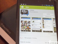 BBM for iPhone and Android updated with 'Find Friends' feature