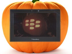 Repurpose your old BlackBerry PlayBook for Halloween