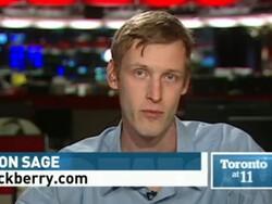 CrackBerry's Simon Sage talks with CBC Toronto about BlackBerry's open letter