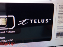TELUS introducing NFC-enabled SIM on October 10th