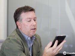 BlackBerry Z30 design with senior VP Todd Wood