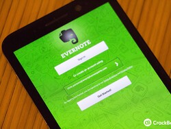 Evernote receives an update via BlackBerry Beta Zone