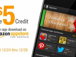 Get a free $5 credit for any app or game from the Amazon app store